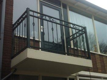 Balkonhekwerk Narcis in Heerjansdam
