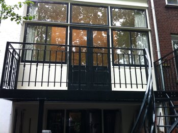 Balkonhekwerk en trap in Rotterdam