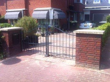 Autopoort geplaatst in Dordrecht