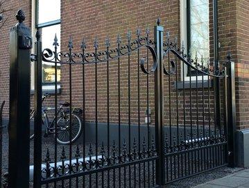 Poort Jasmijn geplaatst in Waddinxveen